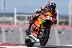 "Moto2   Gp Austin FP3: Raul Fernandez batte Gardner, ""Diggia"" è terzo"