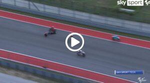 Moto3   Gp Austin: l'incidente analizzato con lo Sky Tech [VIDEO]